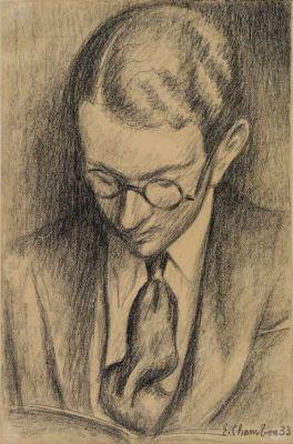 Portrait de Gilbert Trolliet par Emile Chambon, 1933.